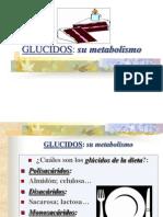 Metabolismo de Glucidos 2012