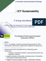 IT Energy-USe Metrics