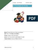 Unidad 1 Cuestionario 1 Principios Electronicos y Aplicaciones Digitales