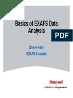 Basics of XAFS Analysis 2009