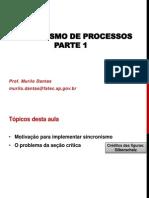 SO-11 Sincronismo de Processos Parte1