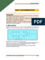 Matrices y Determinantes 12.05.14