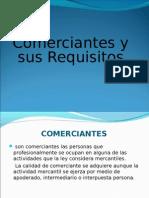 Comerciantes y sus Requisitos