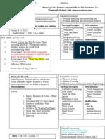 april 2013 lesson plans