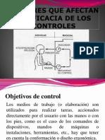Factores Que Afectan La Eficacia de Los Controles y Tipos de Controles I