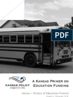 A Kansas Primer on Education Funding