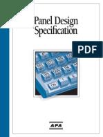 Apa Panel Design Spec