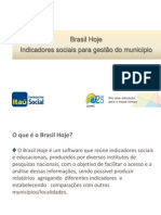 Indicadores Sociais Para Gestão Do Município Elaine Teixeira Cenpec
