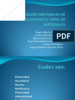 Propiedades Mecanicas de Los Distintos Tipos de Materiales