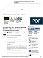 Hack Like a Pro_ How to Embed a Backdoor Connection in an Innocent-Looking PDF « Null Byte