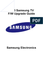 TV Firmware Upgrade Instruction