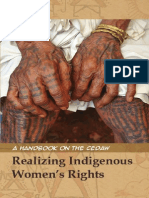 Realizing Indigenous Women's Rights - A Handbook on the CEDAW-1