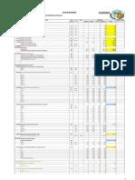 Metrado Aulas Secundario Concacha Nueva Propuesta Bloque-1 48.00m2