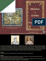 Mestizos y Criollos en El Perc3ba Colonial Nc2ba 72