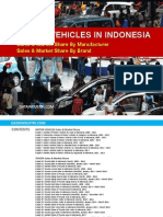 Motor Vehicles in Indonesia 2014