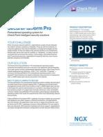 Secure Platform Datasheet