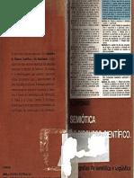 Greimas, Algirdas Julien. Semiótica Do Discurso Científico. Da Modalidade. Trad. Cidmar Teodoro Pais. São Paulo_difel Sbpl, 1976