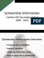 Scholarship 2007 8