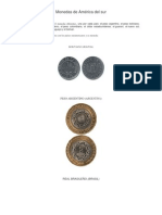 Monedas de América Del Sur