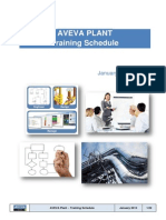 AVEVA SEMEA Training Schedule 2013