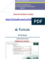 Guía de Acceso Al Curso - Experto en Dirección de Entidades Financieras