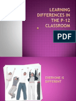learning differences in the p-12 classroom