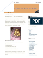Biscoitinhos de Laranja