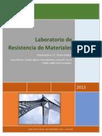 Informe Final Resistencia de Materiales...
