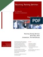 Roamingwise Training Seminar Brochure_reduced