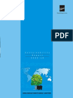 Sustainabilty Report
