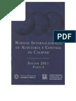 Normas Internacionales de Auditoria y Control de Calidad - Edicion 2011 - Primera Parte