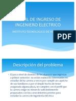 Perfil de Ingreso de Ingeniero Electrico