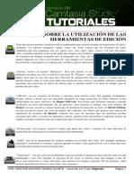 Guía Sobre La Utilización de Las Herramientas de Edición