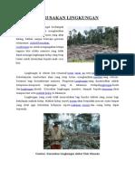 Artikel Kerusakan Lingkungan