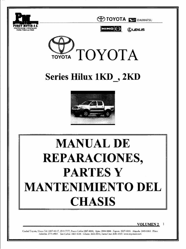 manual toyota hilux pdf rh scribd com manual de toyota hilux 2014 manual de toyota hilux 2008