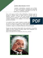Biografía de Albert Einstein