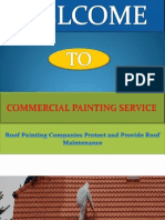 What Roof Painting Companies Do
