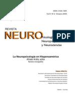 Ardila a Ed 2009 La Neuropsicologc3ada en Hispanoamc3a9rica Neuropsicologia Neuropsiquiatria y Neurociencias Vol 9 n2