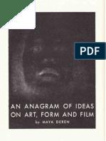 Deren Maya - An Anagram of Ideas on Art Form and Film