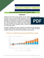 Investment Memo for Deloitte