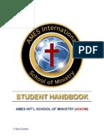 Aisom Student Handbook Dec 2011 2 Column