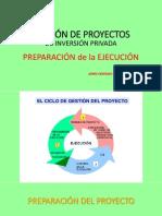 3apreparación Ejecución Gestión Proy 2014