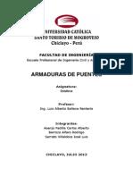 Monografía - Armaduras