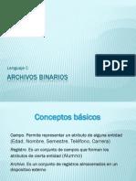 Ar Chivos Bin a Rios