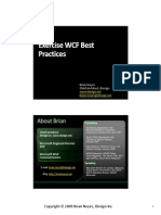 Wcf Best Practices