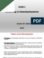 Kurs 1 - Datenbanken