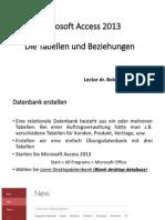 Kurs 3 - Microsoft Access 2013