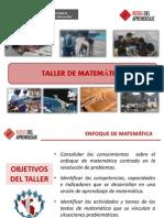 1. Ppt - II Taller de Matematica