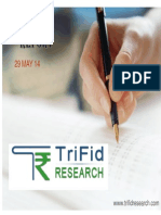 Stock Market Trading News by Trifid Research