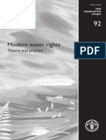 Stephen Hodgson - Modern Water Rights